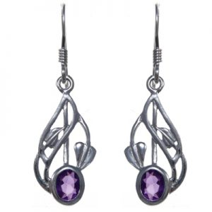Charles Rennie Mackintosh Silver Earrings 3313