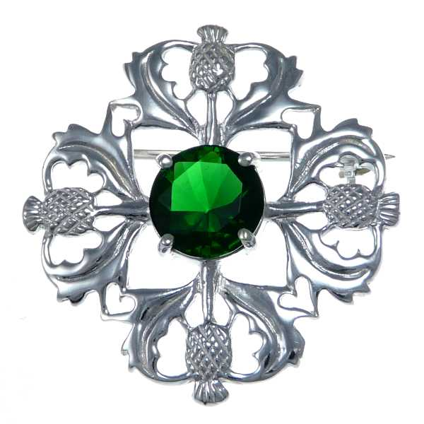 Scottish Silver Brooch SB3009