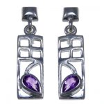 Charles Rennie Mackintosh Earrings