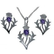 Pendants archives silver scottish thistle pendant set aloadofball Images
